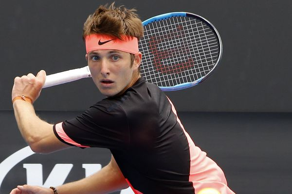 Le joueur de tennis Corentin Moutet.