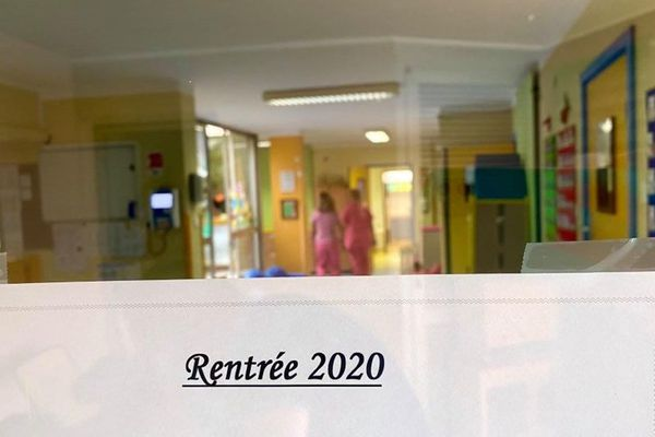 La rentrée des enfants à débuté dans les crèches lundi 31 août.