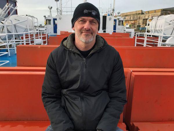 Mathias a été un passager régulier de l'Acadie. Le bateau lui laisse de nombreux souvenirs