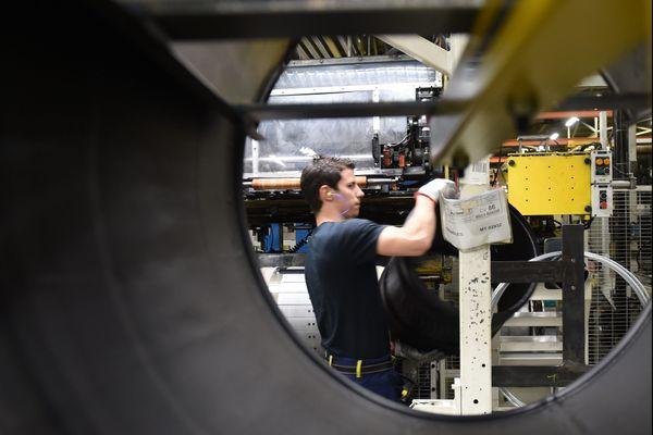 A Roanne, Michelin a réalisé d'importants investissements pour améliorer la compétitivité de sa production, depuis 2015.