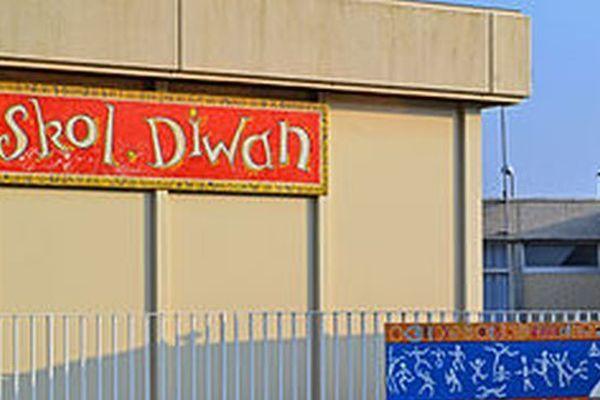 l'école Diwan de Saint-Pol de Léon (Finistère)