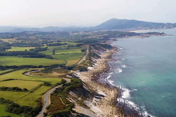 La corniche Basque