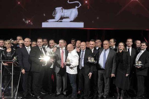Trophées de la gastronomie 2015 : photo finale avec toutes les lauréats et les partenaires