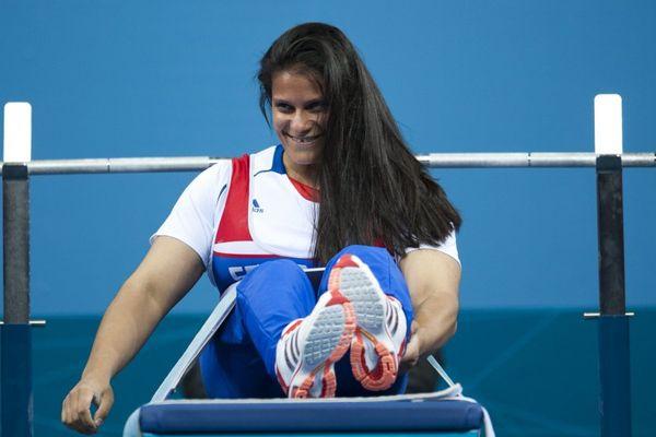 Médaillé d'or à Londres, Souhad Ghazouani doit se contenter cette fois de l'argent.