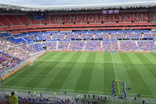 Groupama Stadium : 22 000 personnes pour la 1/2 finale de la ligue des champions OL/Chelsea