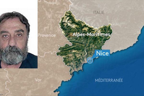 Appel à témoin après la disparition à Nice depuis le 2 janvier 2020 d'un homme de 65 ans
