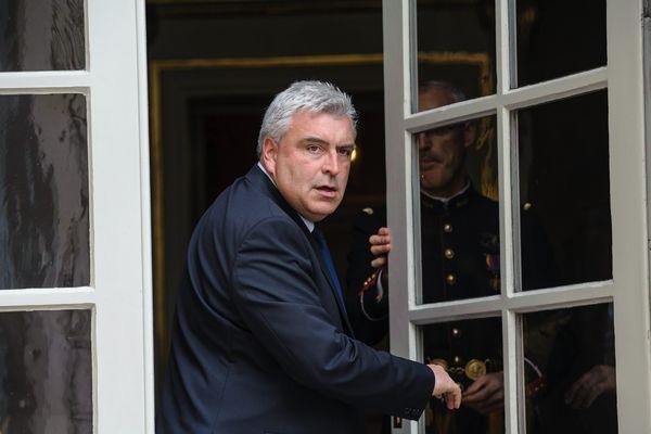 Frédéric Cuvillier, secrétaire d'Etats aux Transports