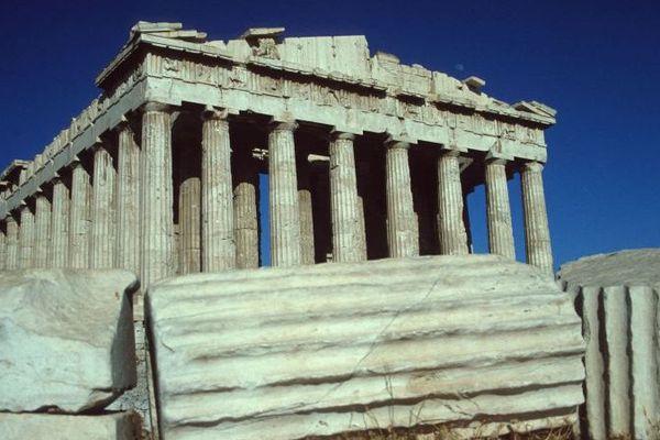 Le Parthenon à Athènes
