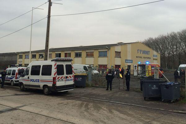 Le squat Drouet a été évacué ce jeudi 9 février 2017, vers 8H du matin.