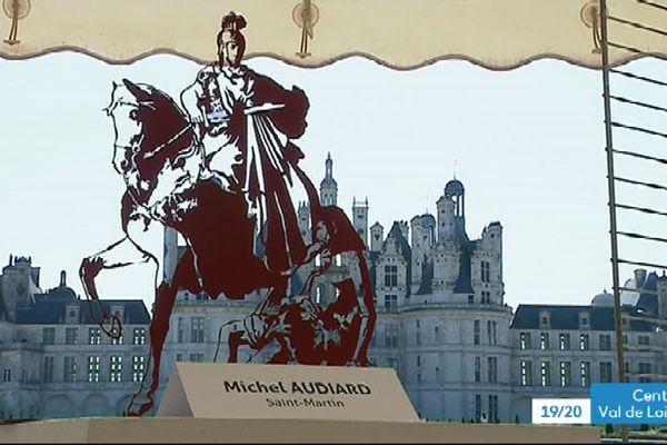 Quarante-deux oeuvres exposées par trente-deux artistes ont été vendues ce 15 septembreà Chambord.