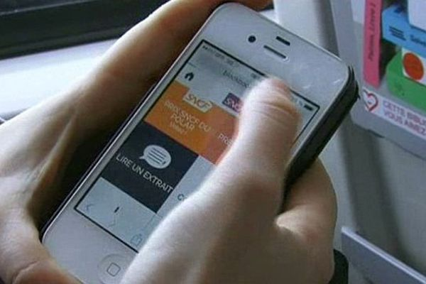 L'application SNCF et le flash code pour lire les livres digitaux dans les TER Languedoc-Roussillon