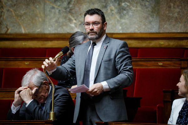 Le député de l'Hérault Christophe Euzet à l'Assemblée Nationale