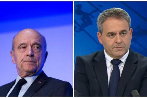 """Alain Jupé soutient Xavier Bertrand qui demande la renégociation des """"Accords du Touquet"""""""