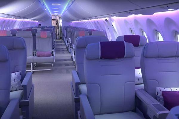 Toulouse - présentation de l'Airbus A.220 - 27 mai 2021.