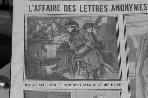 Angèle Laval, le Corbeau de Tulle