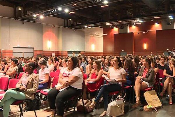 Quelques uns des 786 nouveaux professeurs de l'académique de Toulouse cuvée rentrée 2018