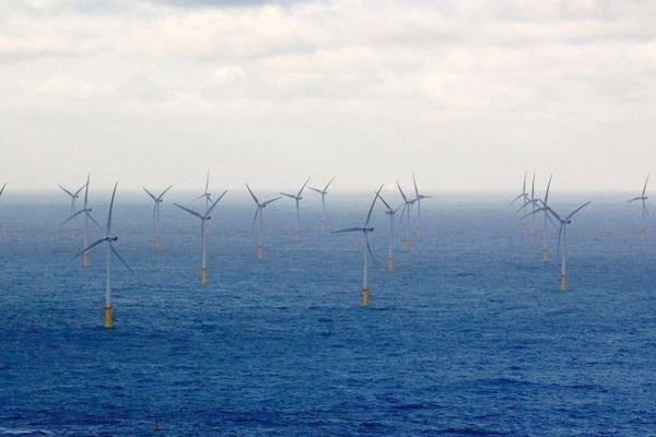 Un nouvel appel d'offres va être lancé pour un parc éolien au large du Tréport.
