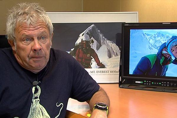 Jean-Michel Asselin, journaliste spécialiste de la montagne