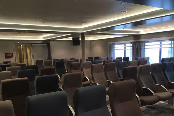 le salon passagers pour voyager sur les fauteuils