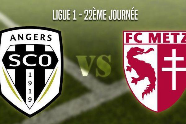 Angers SCO reçoit le FC Metz.