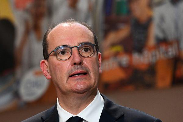 Jean Castex au CHU de Montpellier, le 11 août 2020 (image d'illustration).