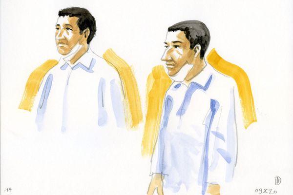 Guerric Jehanno, 32 ans, comparaît devant les assises du Tarn, à Albi, pour l'enlèvement, le viol et le meurtre d'Amandine Estrabaud, en juin 2013 à Roquecourbe.