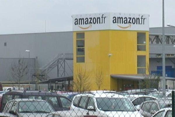 Le site Amazon de Saran (Loiret).
