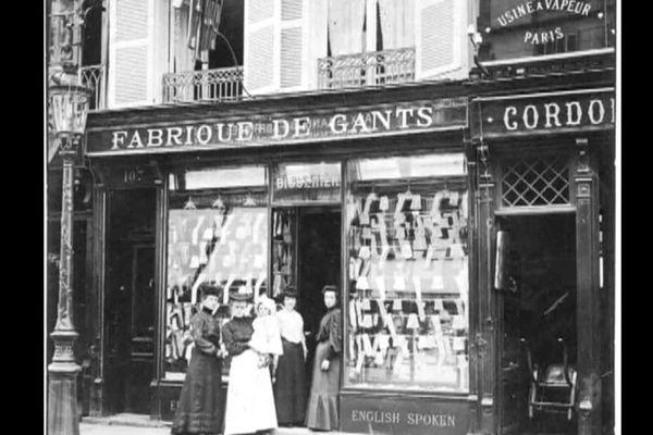 La boutique de la rue de Paris au Havre à la Belle époque