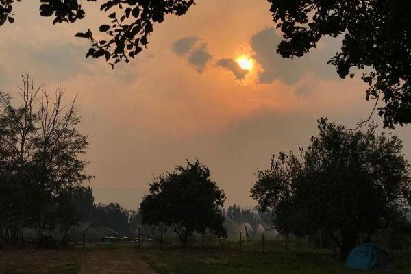 Lindo Woudenberg, un Toulousain vivant en Australie, assiste à l'évolution des incendies depuis plusieurs semaines.