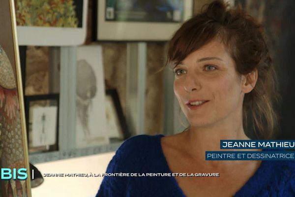 Jeanne Mathieu, peintre et dessinatrice