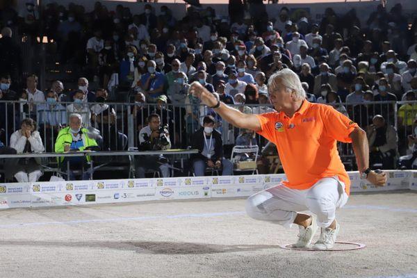 Marco Foyot joue son 7e titre au Mondial la Marseillaise à pétanque.