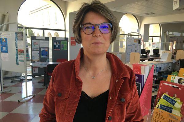 Isabelle Bernier est la directrice de la Maison de l'emploi et de la formation du Thouarsais