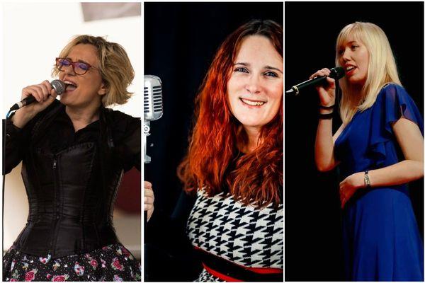 Brigitte Crenner, Cynthia Colombo et Delphine Untereiner sont les trois finalistes de la 4e édition de d'Stìmme