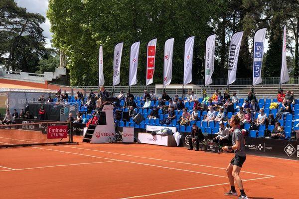 A Lyon, l'Open Parc AURA se poursuit devant du public ce mercredi 19 mai, jour de déconfinement