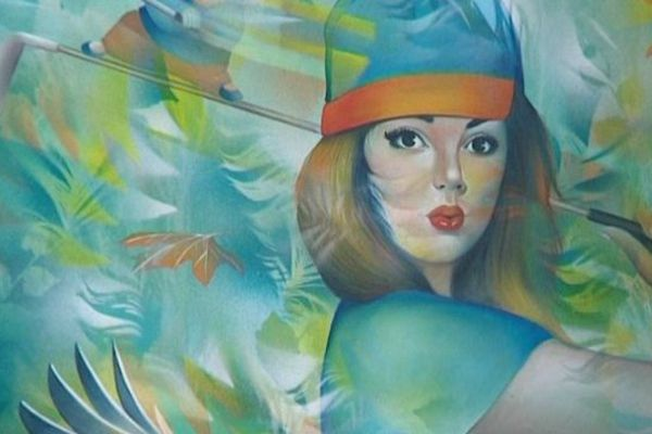 Le travail de Jeannette Guichard Bunel est exposée dans son atelier à Torulaville
