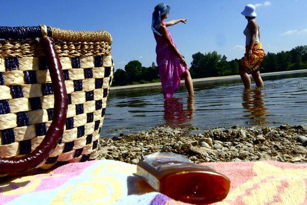 La Loire faussement calme