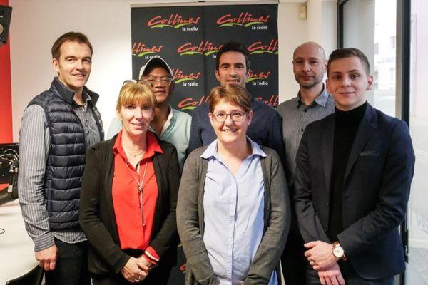 L'équipe de Collines la Radio installée à Cerizay dans les Deux-Sèvres.
