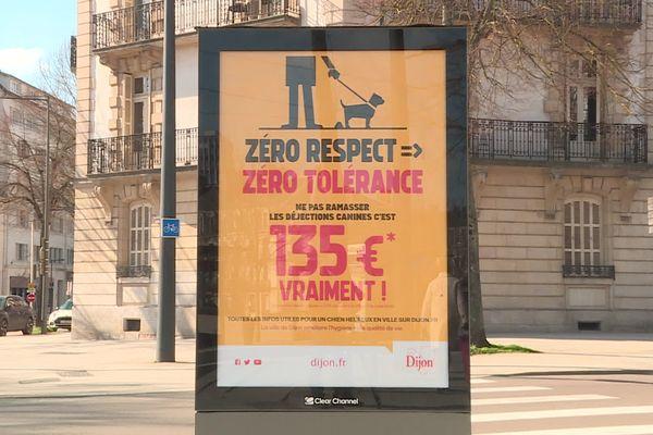 Campagne contre les déjections canines à Dijonijon