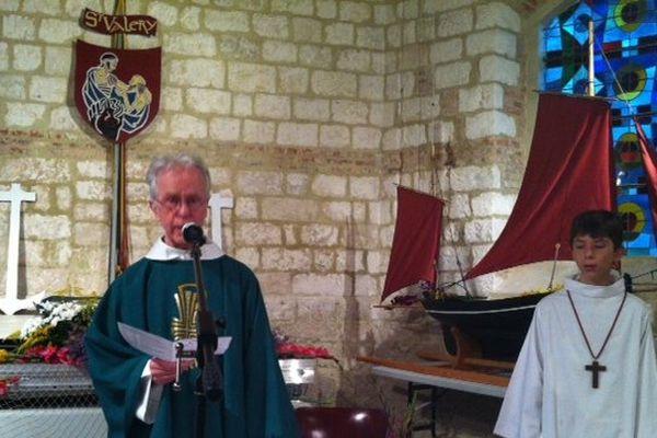 La messe en hommage aux marins disparus en mer