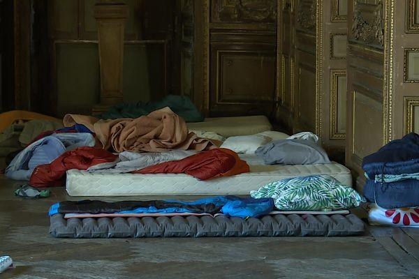 Une vingtaine de personnes sans lien avec la coordination des intermittents et précaires ont dormi dans des salles du Grand-Théâtre la nuit dernière