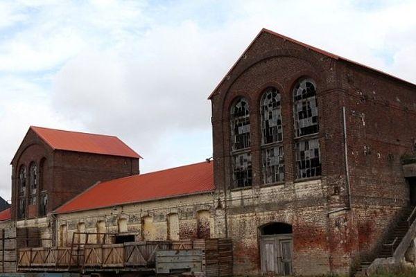 La sucrerie de Francières dans l'Oise en 2013