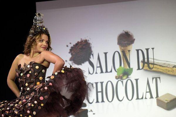 A l'occasion du Salon du Chocolat, un chocolatier de Digne ouvre son atelier pour faire découvrir au grand public les secrets de la fabrication du chocolat.