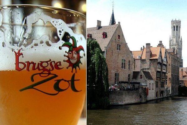 La célèbre bière brugeoise va être acheminée à l'extérieur de la ville par un pipeline.