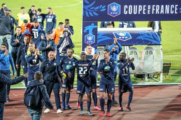 Les joueurs de Rumilly Vallières se sont hissés jusqu'en demi-finales de la Coupe de France 2021.