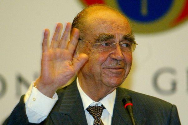 Charles Ginésy (UMP) à Nice, en 2003