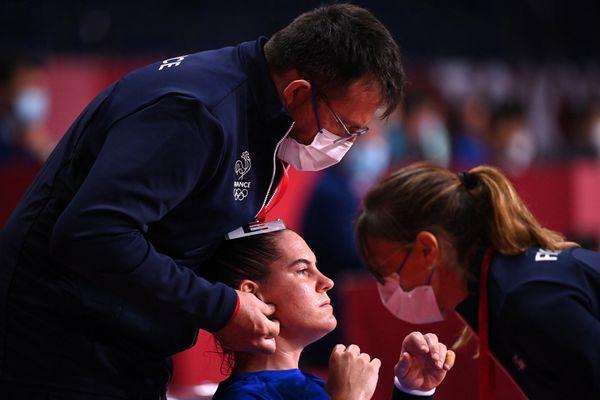 La paloise Alexandra Lacrabère, blessée, déclare forfait aux Jeux Olympiques de Tokyo.