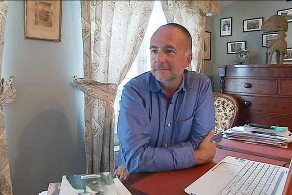 Philippe Grandcoing, historien, auteur de romans policiers