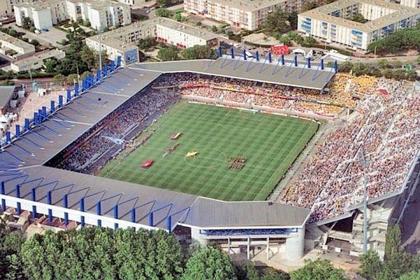 Montpellier - stade de La Mosson - archives