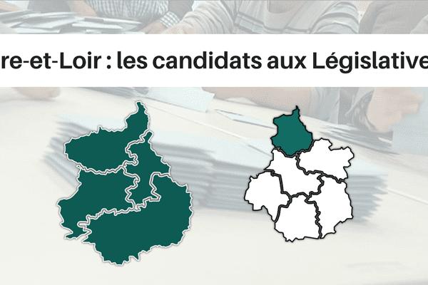 Le département d'Eure-et-Loir est composé de 4 circonscriptions législatives