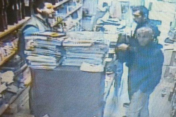 La photo des braqueurs, issue de la caméra de vidéo-surveillance.